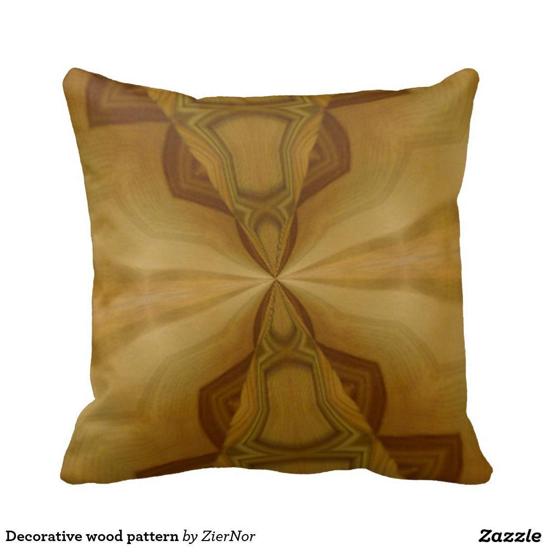 Decorative wood pattern throw pillows | Square Pillow | Pinterest ...