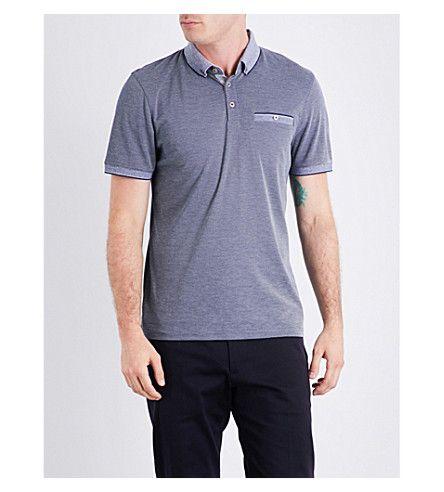 TED BAKER Shapiro Jersey Polo Shirt. #tedbaker #cloth #tops & t-