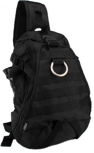 Everest Bb019 Hydration Military Army Style Backpack Backpacks Shoulder Sling One Strap Bag Bags Black Color Outdoor Stuffs