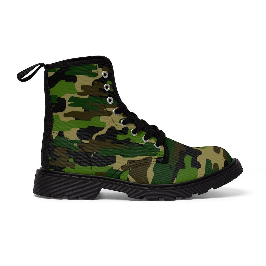 b66b9bed90649 Madoka Military Green Camouflage Army Designer Women's Winter Lace ...