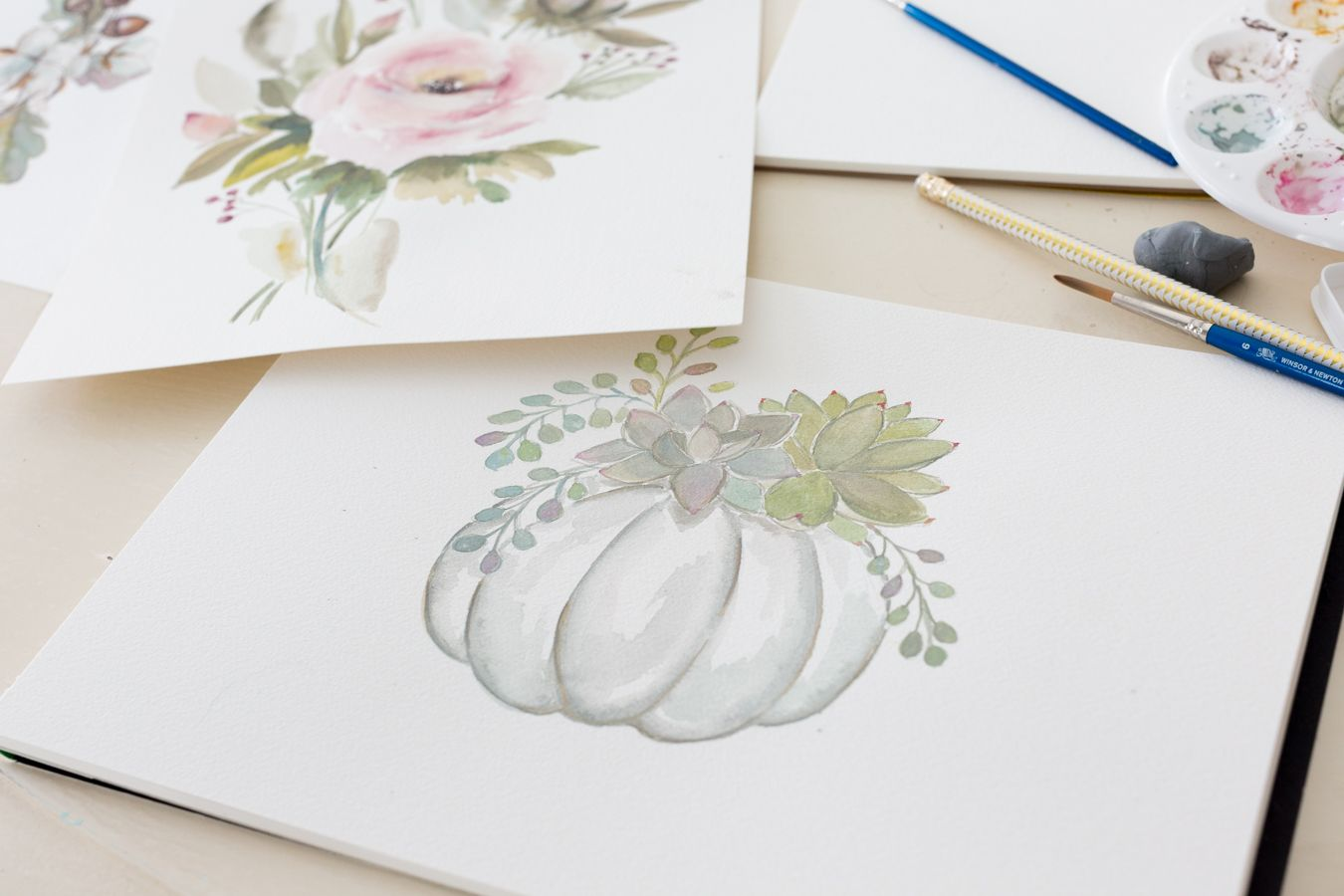 Watercolor Lessons And Free Printable Watercolor Lessons