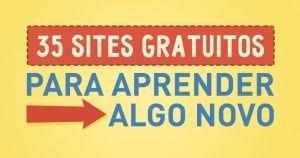 35sites gratuitos para aprender algo novo naweb