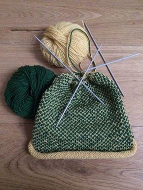 Le motif fair isle (2 épaisseurs) du chapeau de nos enfants est facile à tricoter!   – schick in Strick