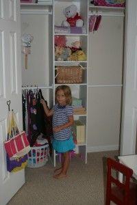 Idea for Lexi's closet
