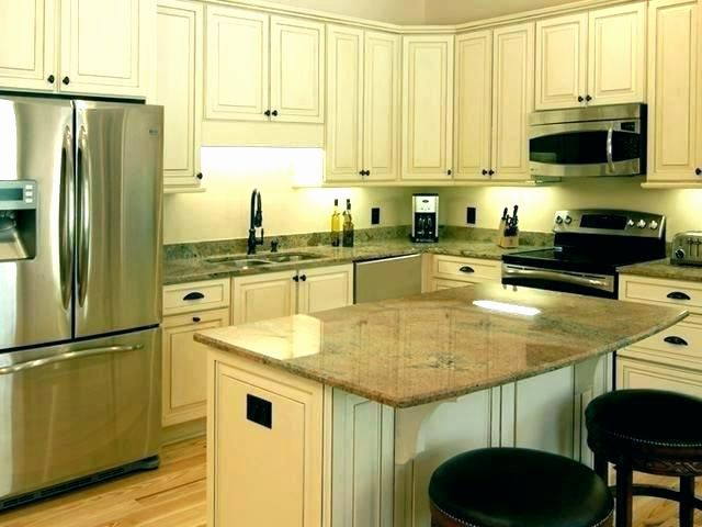 Almond Kitchen Cabinets