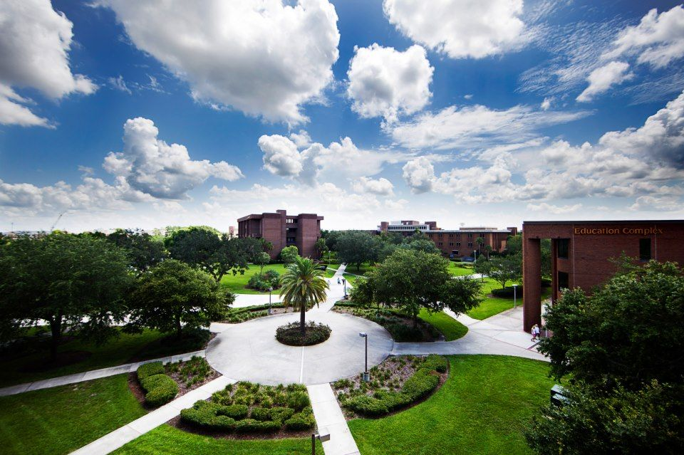 Beautiful day on the UCF Campus Ucf orlando