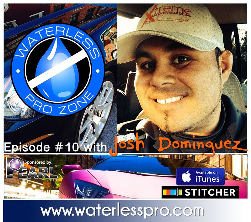 The Waterless Pro Zone with Josh Dominguez from Xtreme