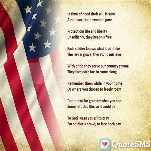 Memorial Day Thank You Quotes: Pin By Priya Sharma On Memorial Day Poems
