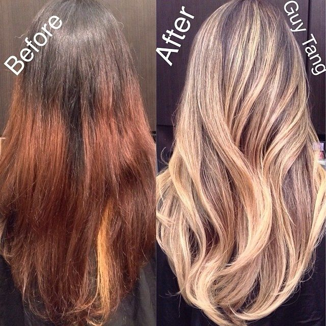 Olaplex Before And After Dark To Light Google Search Dark To