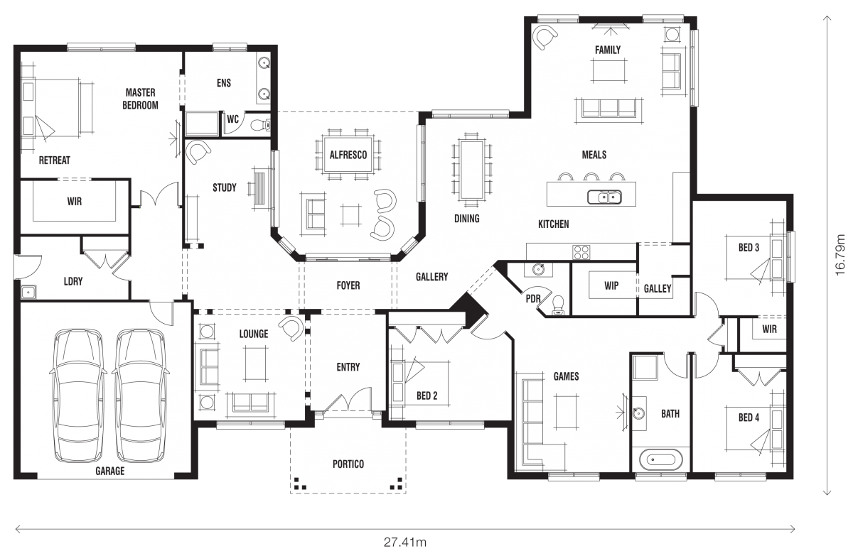 Floor Plan Friday Innovative Ranch Style Home Ranch Style Home Floor Plans House Floor Plans