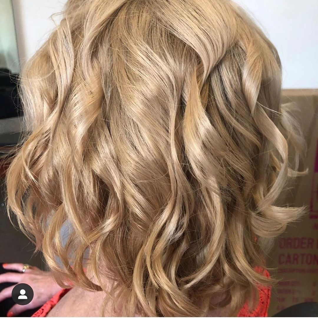 My hair for for Sons wedding on Saturday by hairbyvesa  Gorgeous curls    actress look