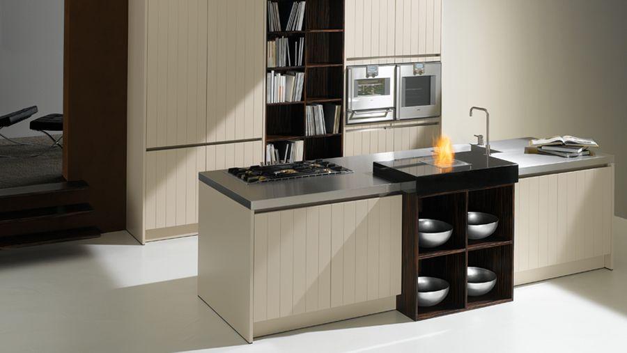 kuche mit kochinsel tm italien, moderne küche mit kochinsel | mental kitchen | pinterest | modern, Design ideen