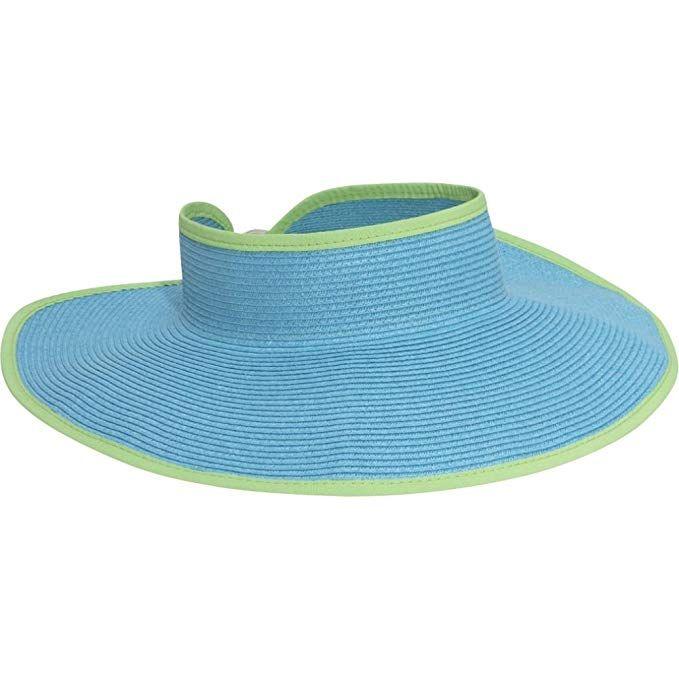San Diego Hat Company Women's Ultrabraid Visor With Ribbon