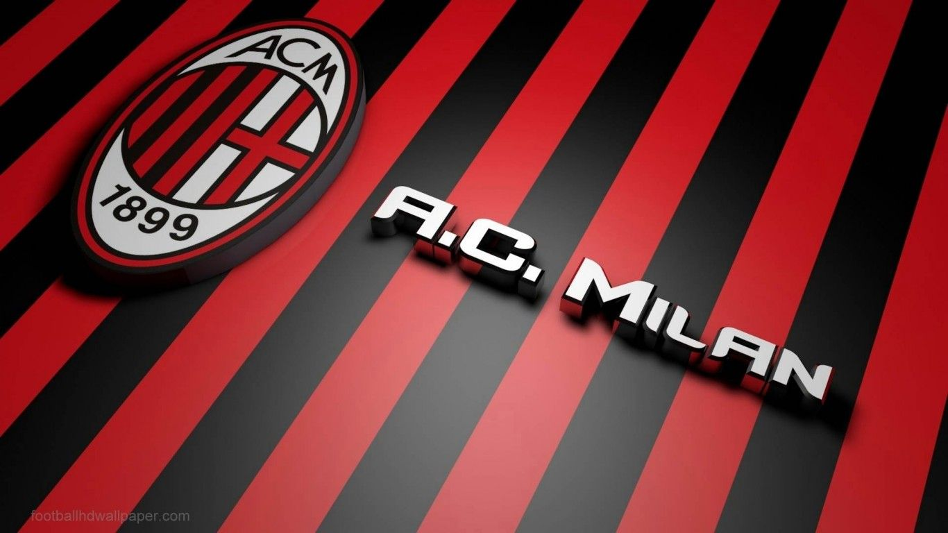 Footballhdwallpapers Com Milan Wallpaper Milan Football Ac Milan
