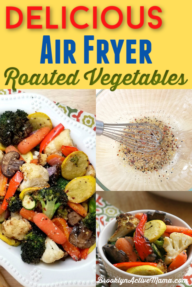 Delicious Air Fryer Roasted Vegetables Recipe Roasted