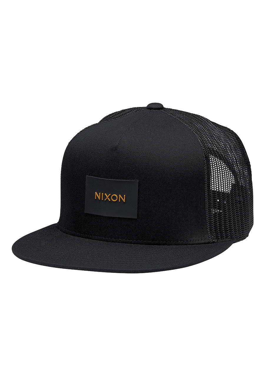 c28d53d859fb3 Nixon Team Trucker (Negro)