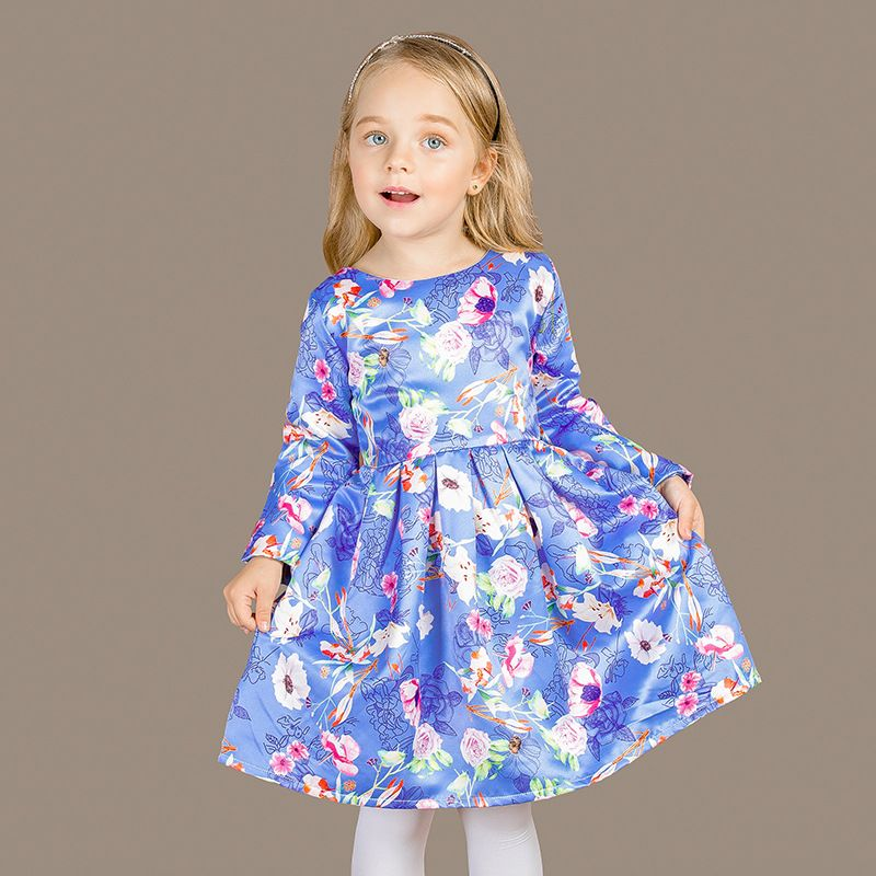 Kids Dress Quality Christmas Directly From China Princess Costume Suppliers Autumn Flower Robe Fille