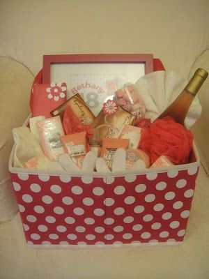 diy bath gift basket i these because it just makes you feel