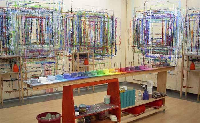 Atelier f r begleitetes malen l sungsorientiertes malen for Raumgestaltung atelier kita