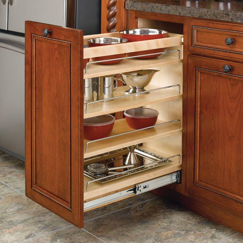 Shop Rev A Shelf 448 Bc 448 Series Three Base Organizer At Atg Stores Browse Our Cabinet Organization All Kitchen Cabinets Rev A Shelf New Kitchen Cabinets