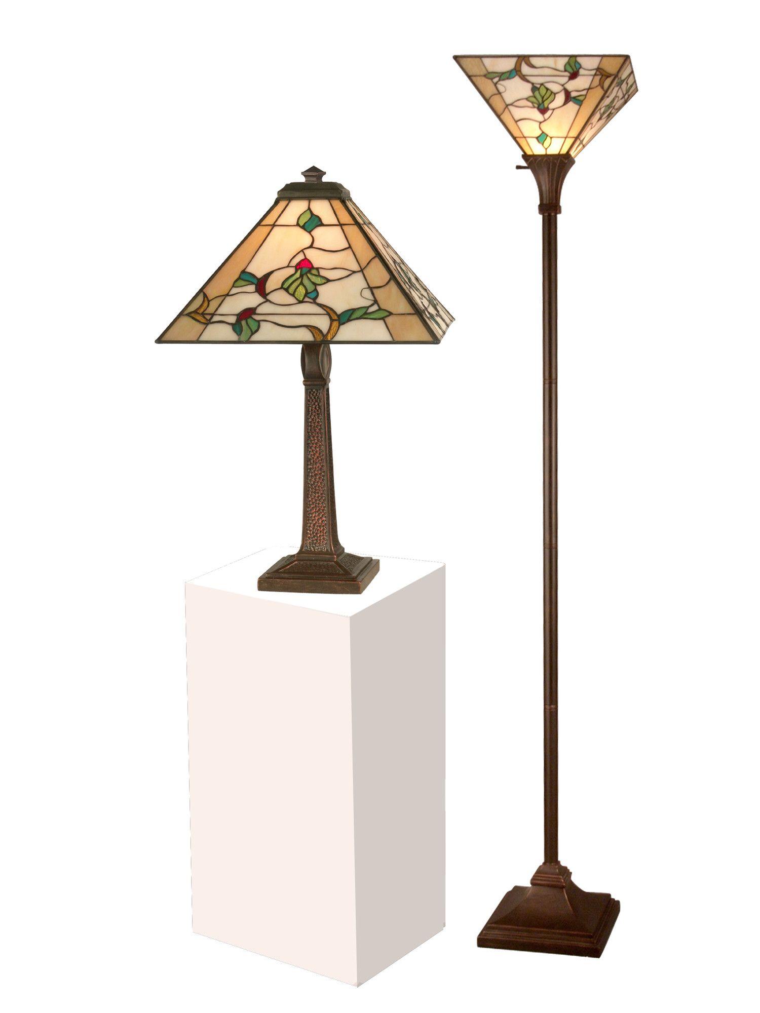 Tiffany Floor Lamp Table Set Torchiere Floor Lamp Dale Tiffany Torchiere Lamp