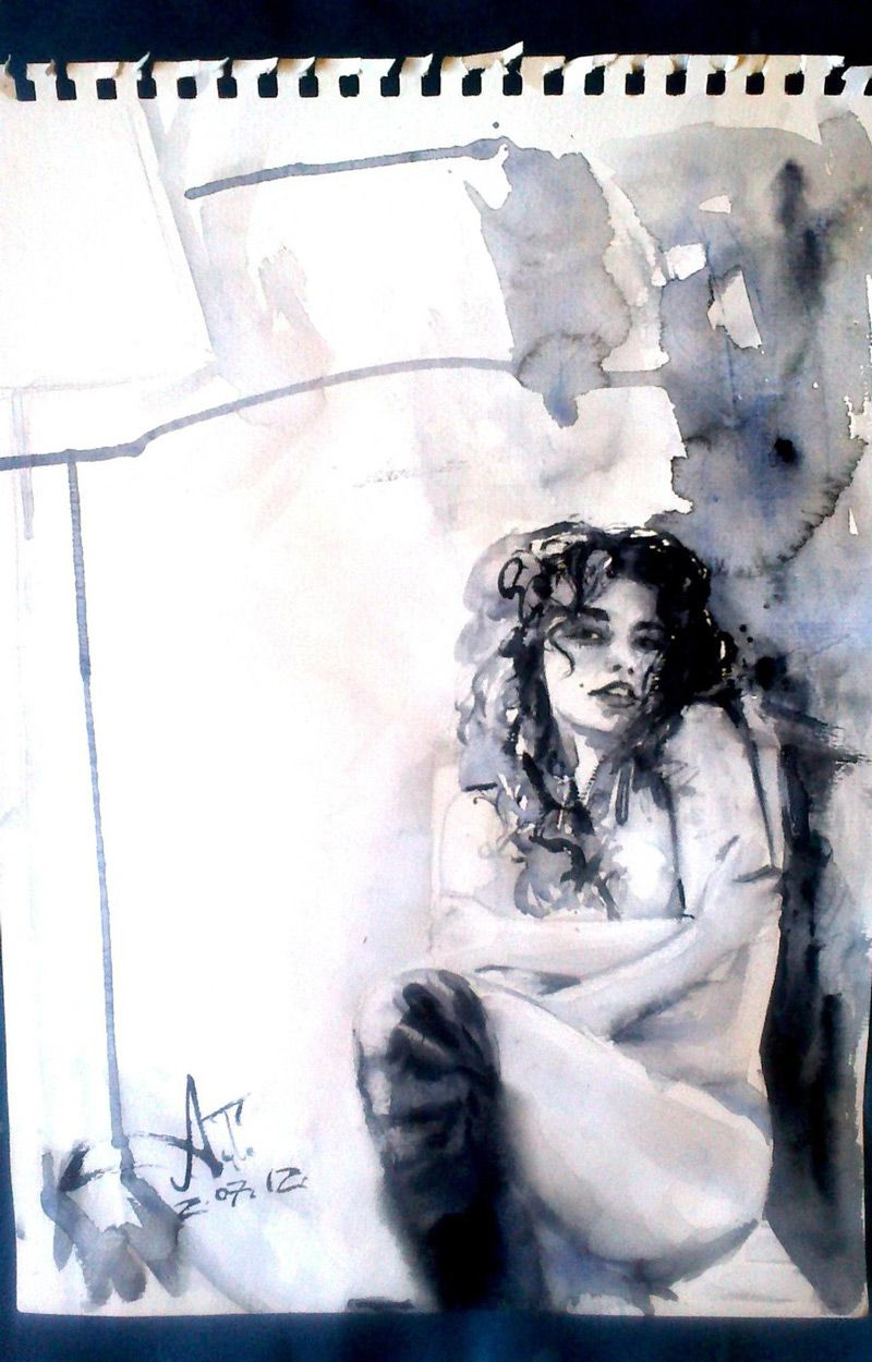 Anna Dart - More artists around the world in : http://www.maslindo.com #art #artists