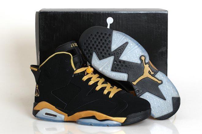 jordan 6s gold and black   Air jordans, Air jordan vi, Nike shoes ...