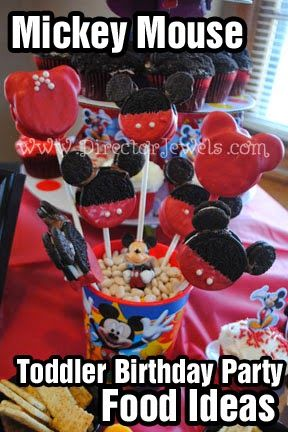 Director Jewels Mickey Mouse Clubhouse Birthday Party Toddler