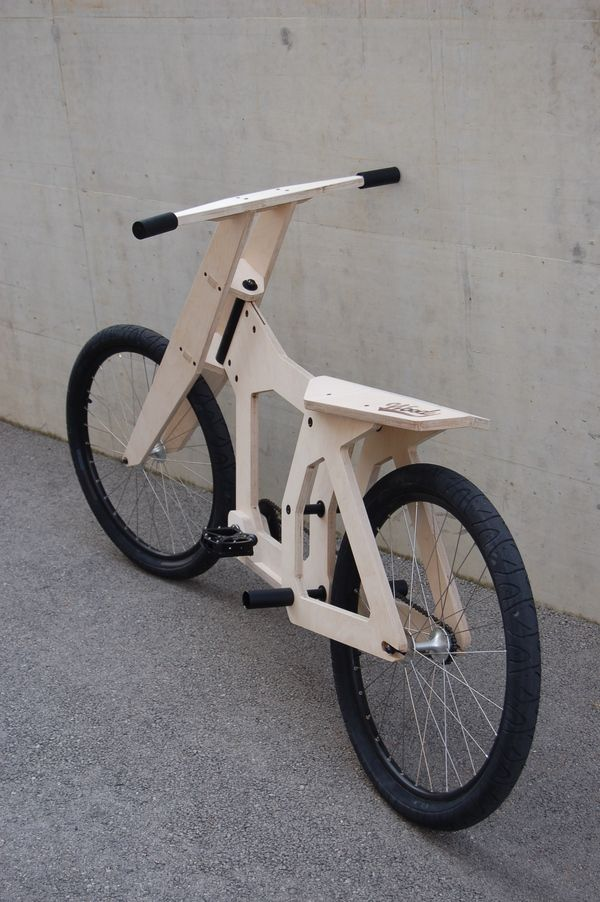 woody wood bicycle bikes pinterest fahrrad holz und fahrrad design. Black Bedroom Furniture Sets. Home Design Ideas