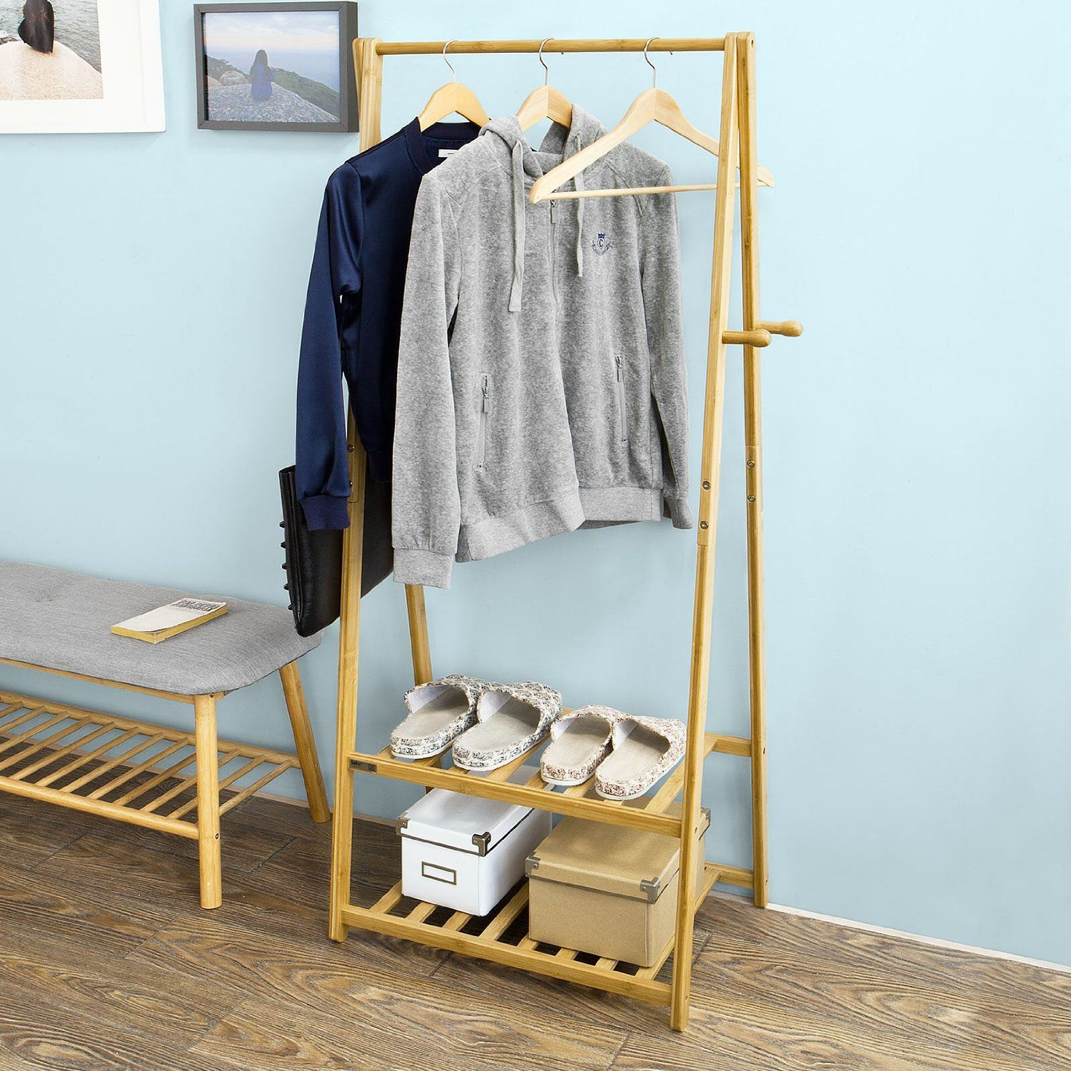 amazon target garment of whitmor shop racks home rack spacemaker freestanding and size holder homcom free clothes full hanger stand w standing clothing com wheels kitchen shelves