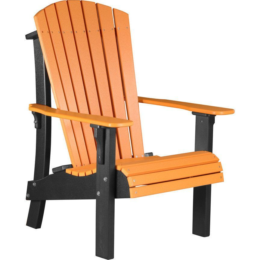 This Senior Height Royal Adirondack Chair Takes The Beauty