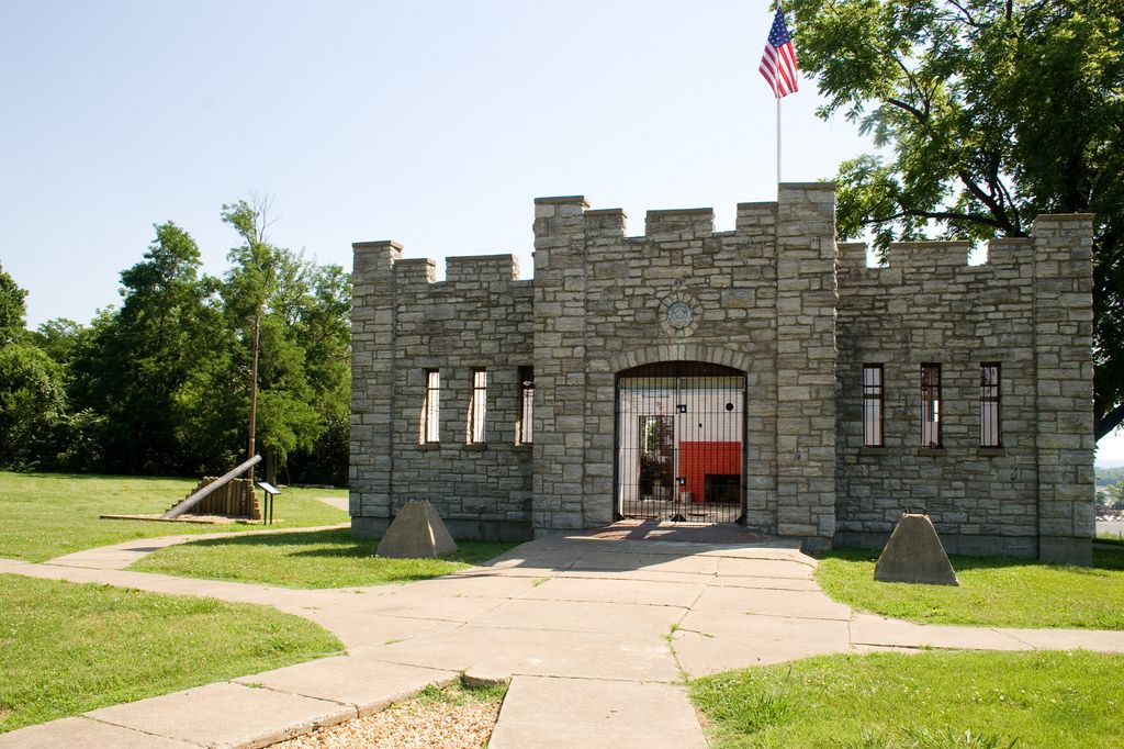 Elegant Fort D, Cape Girardeau MO   One Of Four Earthworks Forts Used To Defend Cape