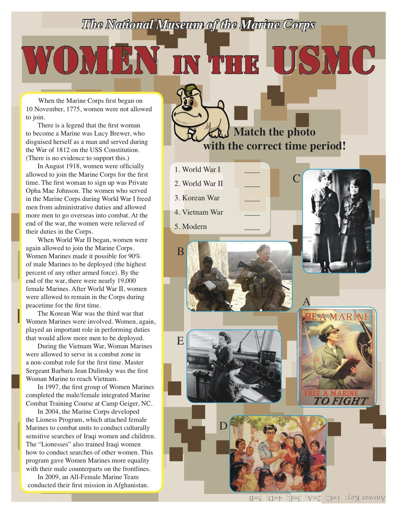 The United States Marine Corps Women In The Usmc