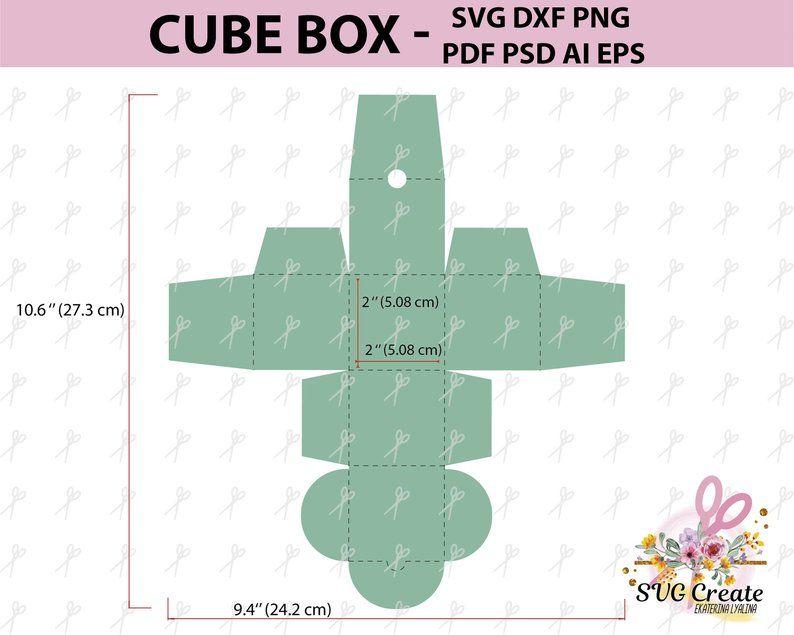 Rubik S Cube Tissue Box Cube Template Tissue Boxes Box