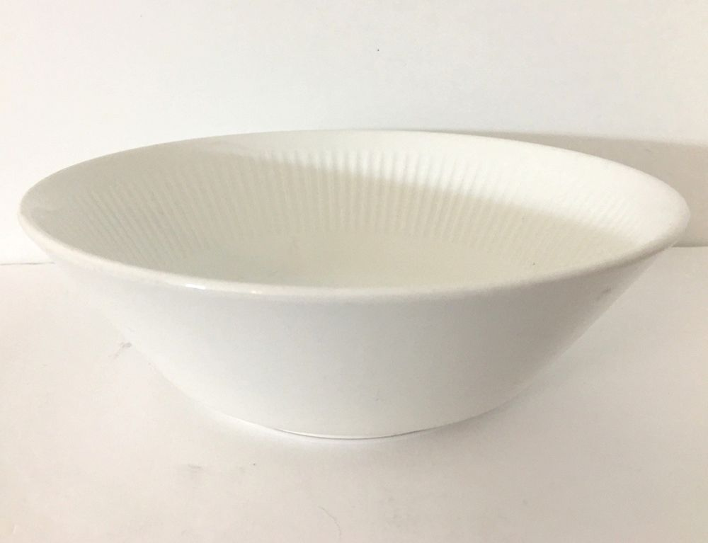Details About Johnson Brothers Athena Round Vegetable Bowl White