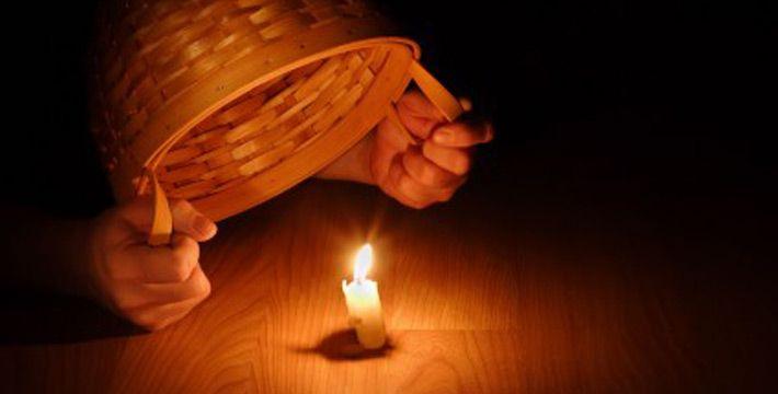 Hide It Under A Bushel No Light Of The World Lamp Bushel