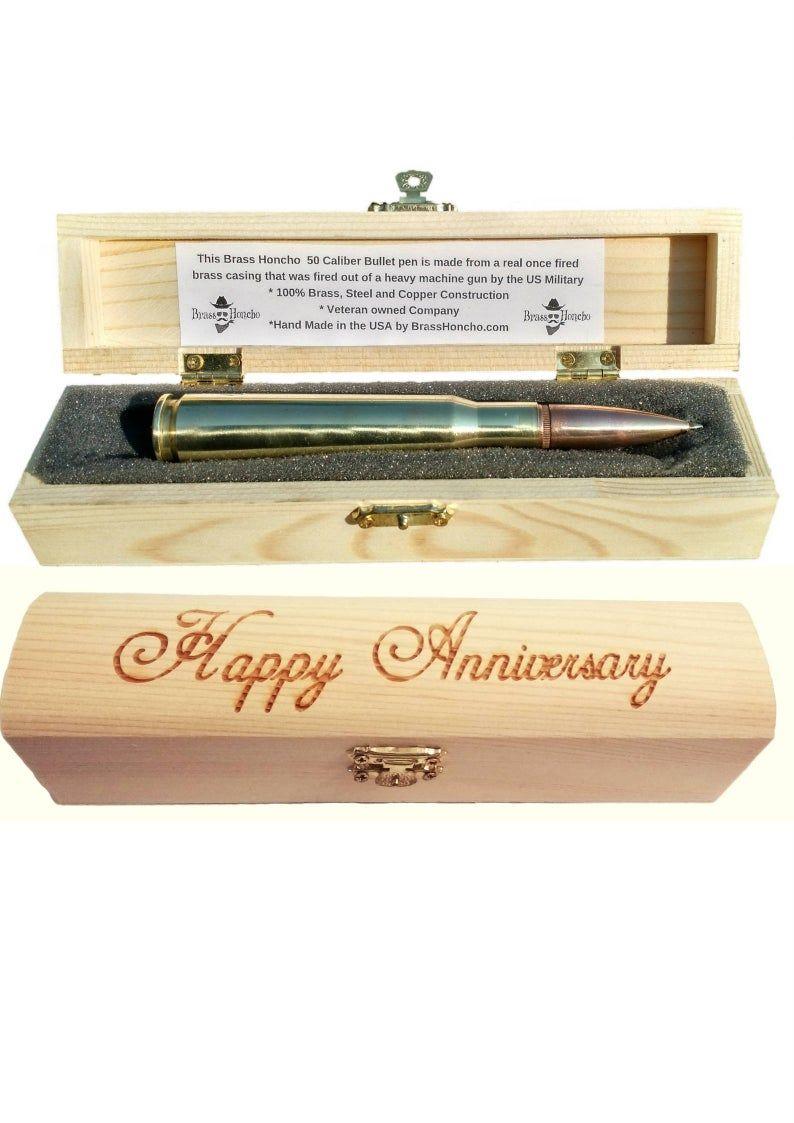 6th anniversary gift for men iron gift for him bullet