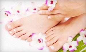 Signature Salon For The Home Manicure Pedicure Shellac Manicure Nail Spa