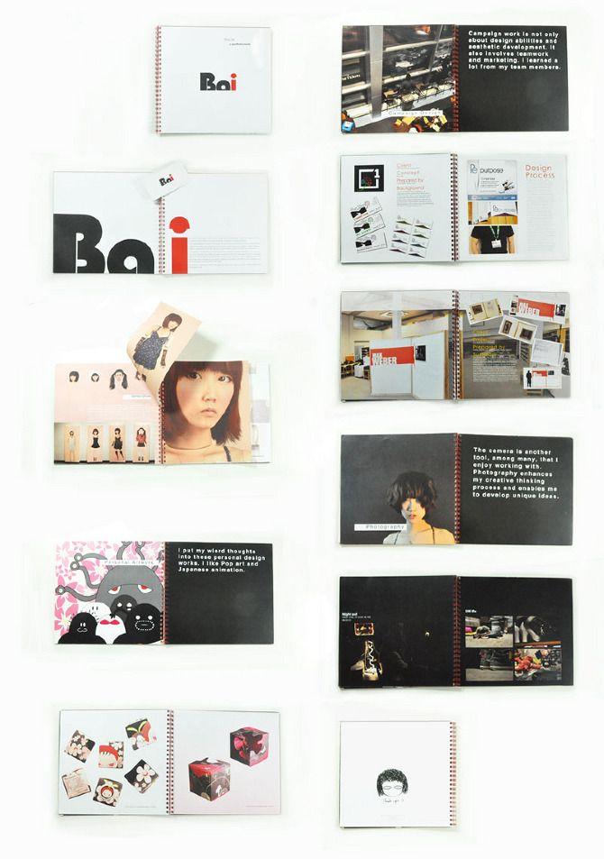 Portfolio Book design and Business card design - A portfolio site of ...
