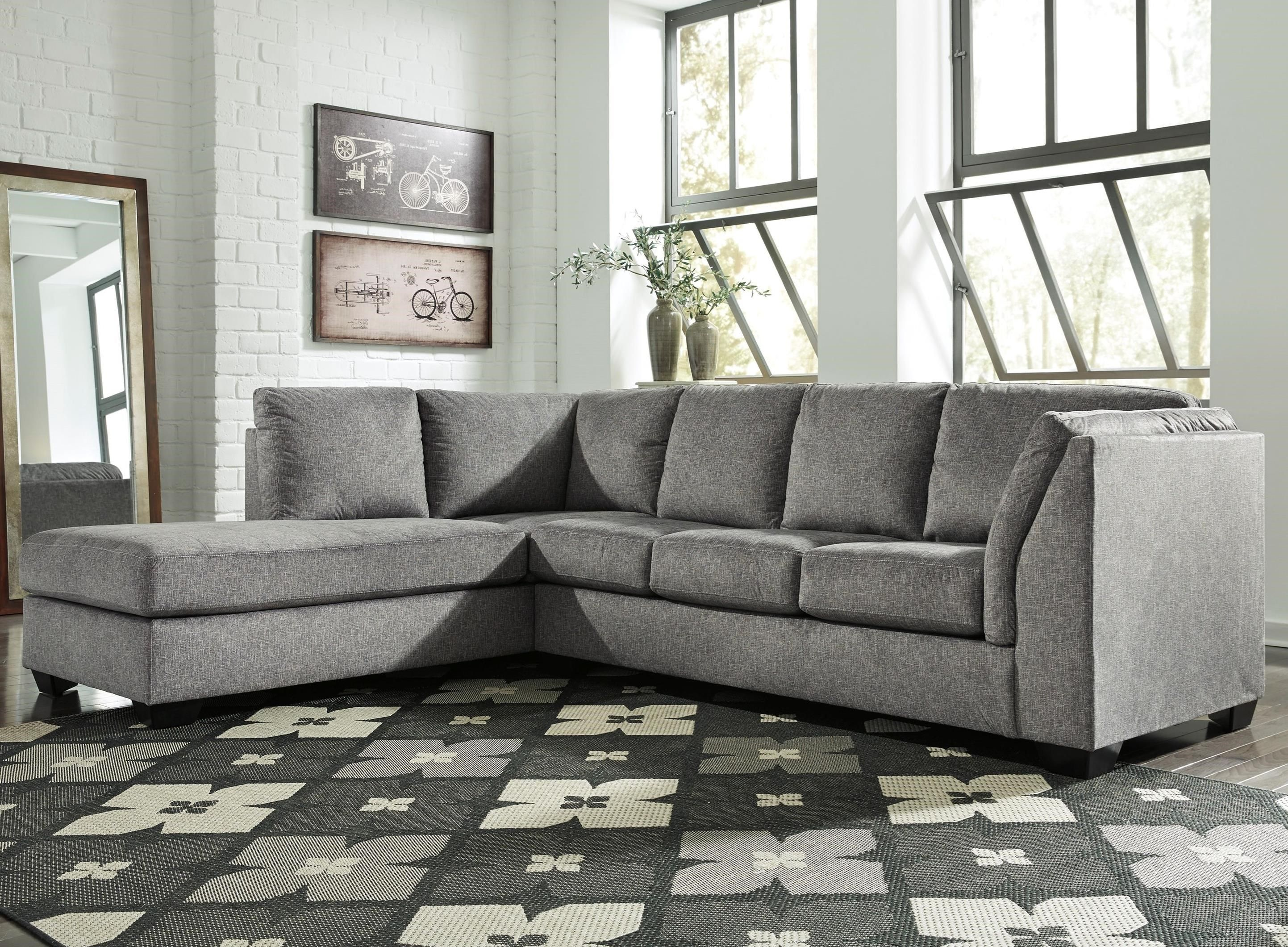 Belcastel 2 Piece Sectional With Chaise By Benchcraft At Rife S Home Furniture 2 Piece Sectional Sofa Sofa Home Sectional Sofa