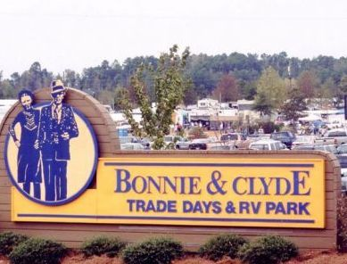 arcadia la bonnie and clyde | Flea Market Review: Bonnie and Clyde Trade Days Arcadia, LA | Broome ...