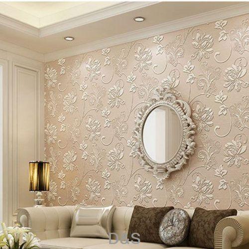 Nice 10m Vintage 3D Barock Tapete Vliestapete TV Wand Wohnzimmer Schlafzimmer  Dekor | EBay