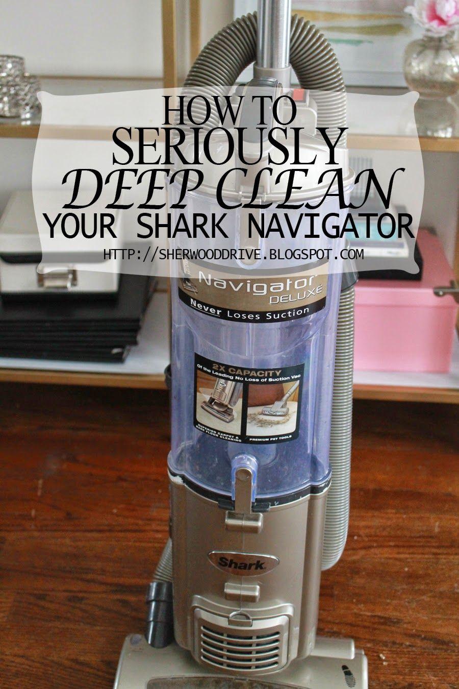 How to deep clean your shark navigator shark navigator