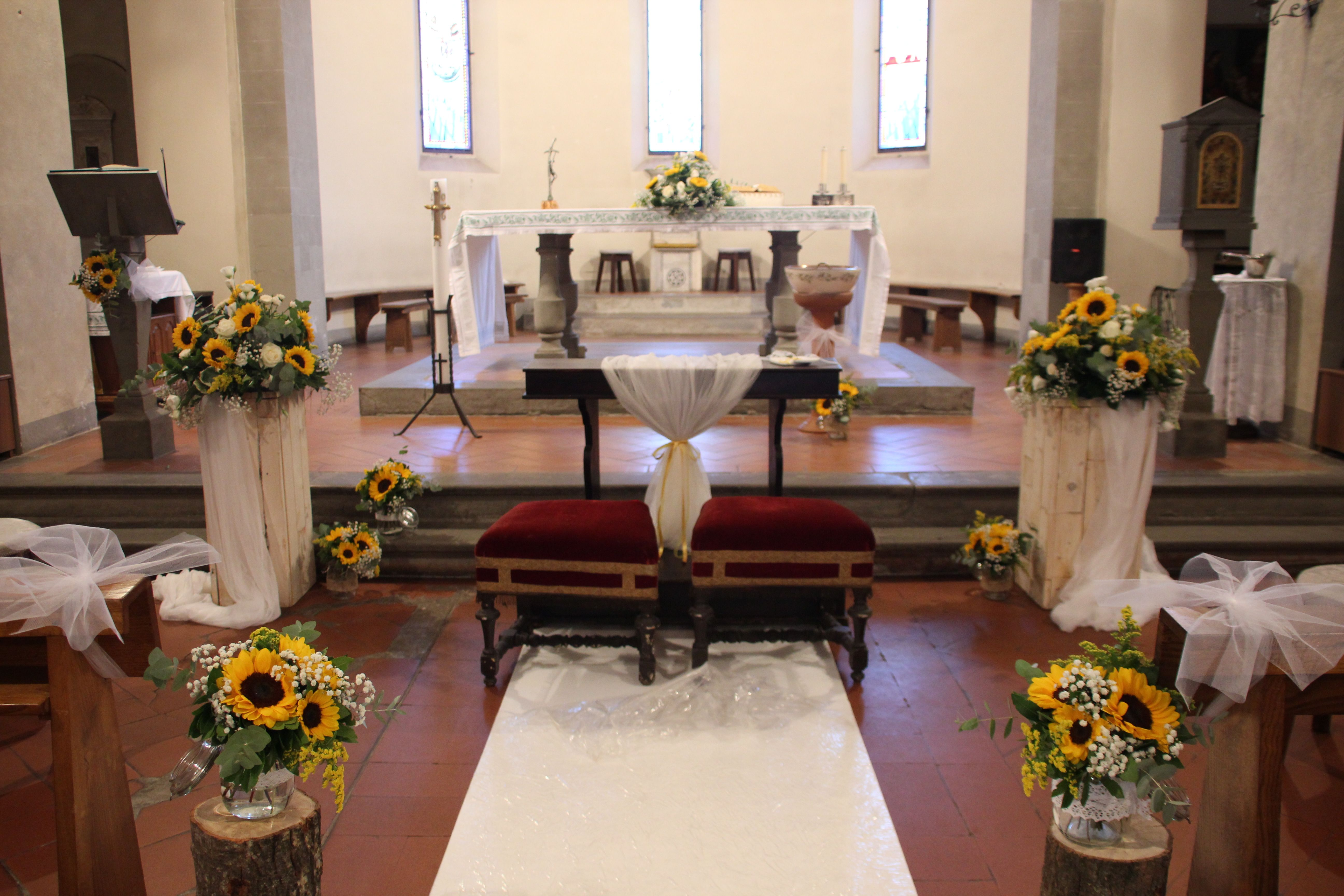 The Country Wood Decoration Sunflower Girasoli Matrimonio Chiesa E Legno Decorazioni Per La Chiesa Decorazioni Nuziali Addobbi Floreali Matrimonio