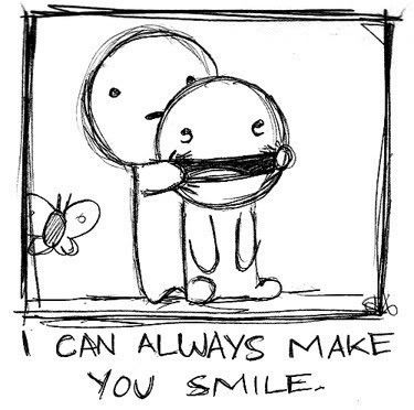Smiling is the greatest power