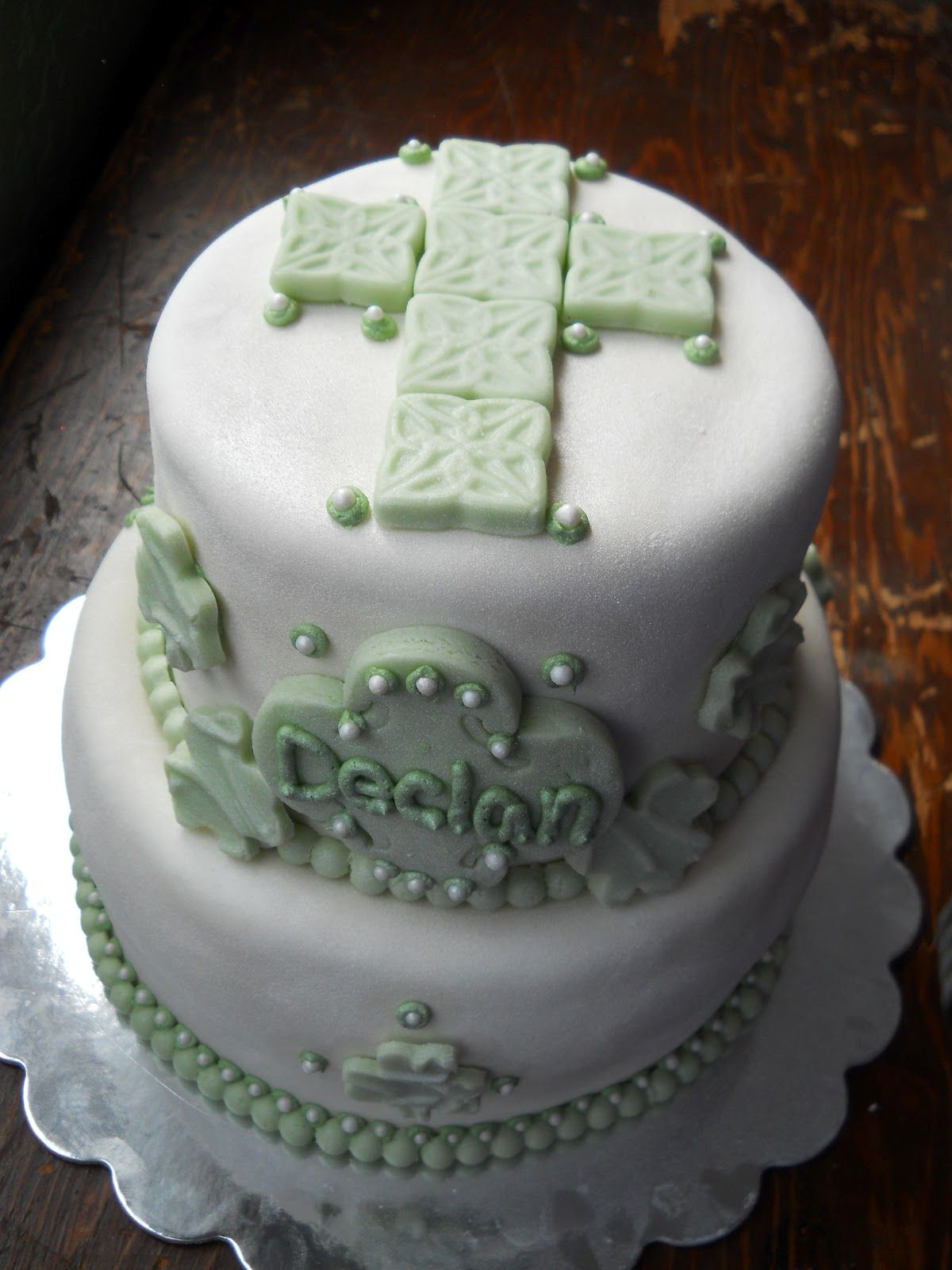 irish baptism cake Google Search Cake, Christening