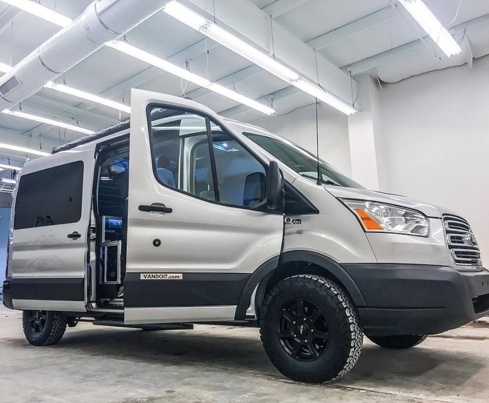 Silver Vandoit Campervan With Quigley4x4 Ready To Hit The Road Vanlife Camper Adventurevan Conversionvan
