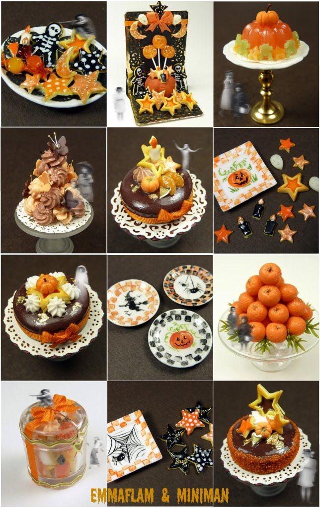 Fete Halloween Paris.Paris Miniatures New Halloween Miniatures Halloween Miniatures Fun Halloween Food Dollhouse Halloween