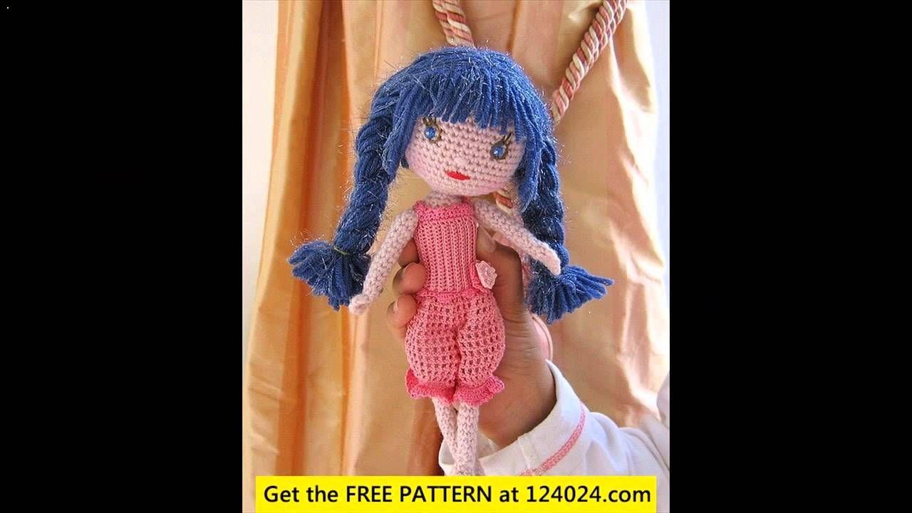 free crochet doll for beginners