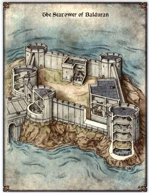 The Searower of Balduran | Fantasy Cartography | Pinterest | Castles ...